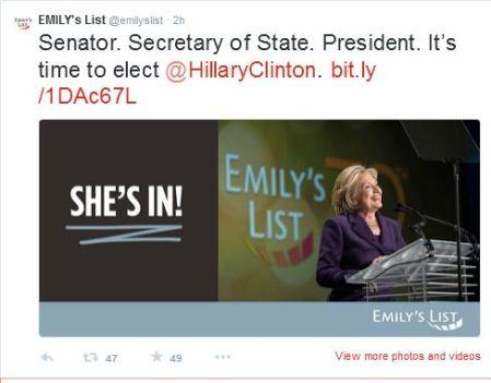Emilys List Hillary 2016