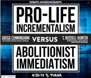 Gregg Russell prolife vs AHA abortion Debate