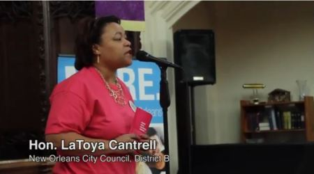 LaToya Cantrell Planned Parenthood