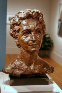 Margaret Sanger Bust National Portrait Gallery
