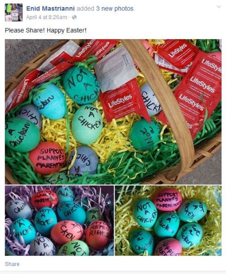 Planned Parenthood Easter