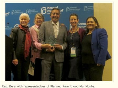Rep Bera Planned Parenthood