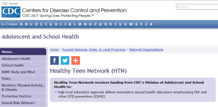 CDC Healthy Teen Network