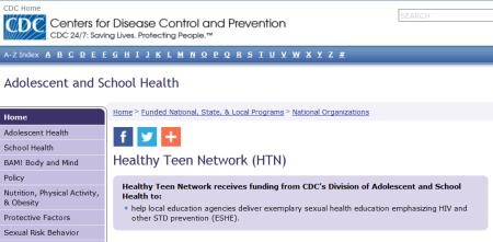 CDC Healthy Teen Network