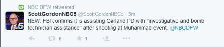 FBI confirmed garland
