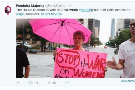 Feminist Majority 20 weeks