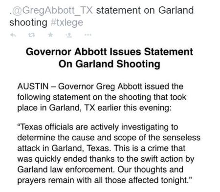 gregg abbott garland gov texas