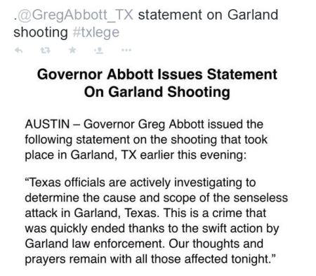 gregg abbott garland gov texas