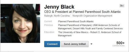 Jenny Black Planned Parenthood