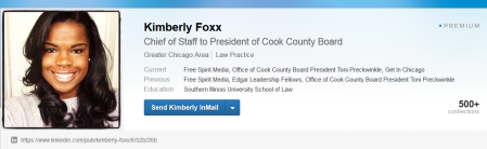 Kimberly Foxx - cook county Planned Parenthood