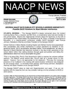NAACP Dublin School obama abortion