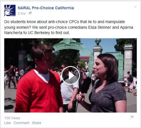 NARAL UC Berkley CPC