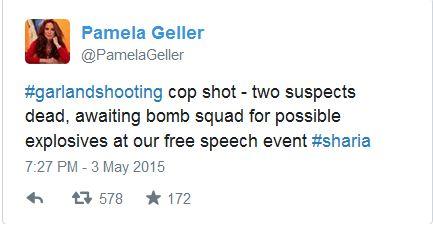 Pamela Geller Tweet