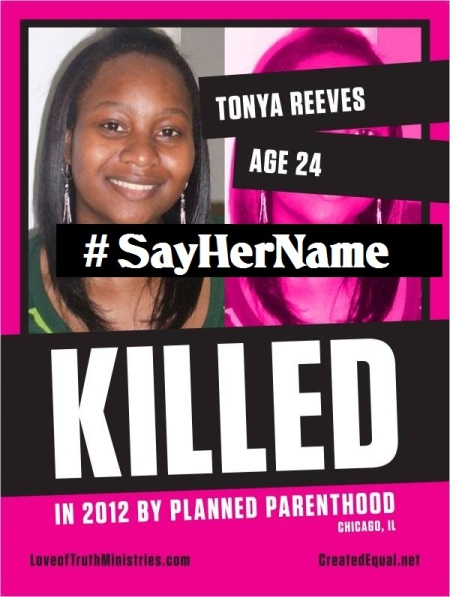 Tonya Reaves SAY her Name Planned Parenthood 8771253239275194306_n