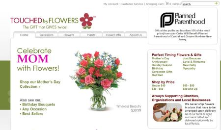Touched by Flowers Planned Parenthood