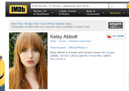 Kelsey Abbott IMD