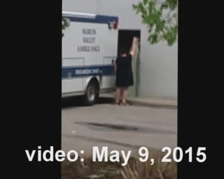 May 2015 Planned Parenthood ambulance