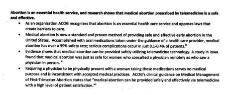 ACOG Abortion