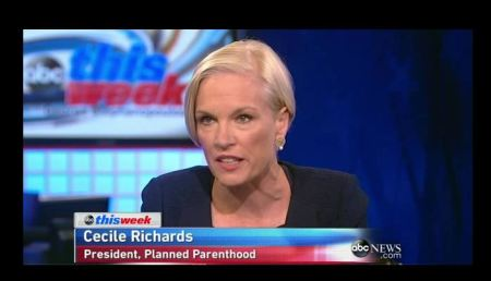 Cecile RIchards Planned Parenthood ABC