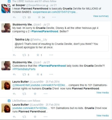 Cruella Planned Parenthood