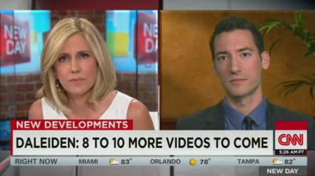 David Daleiden on CNN Planned Parenthood Stem Express