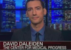 David Daleiden Planned Parenthood Center for Medical Progress