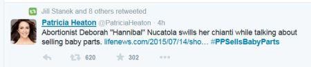 Hannibal Nuctala Plamnned Parenthood Patricia Heaton