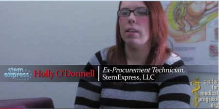 Holly Odonnell Stem Express Planned Parenthood