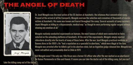 Josof Mengele Angel of Death Planned Parenthood
