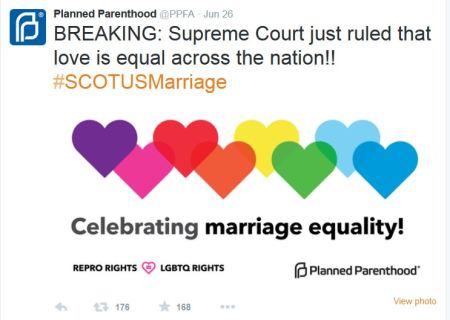 Planned Parenthppd Gay Marriage SCOTUS