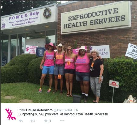 Reproductive Haealth Services prochoice defenders