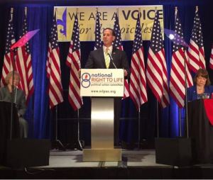 Rick Santorum NRLC 2015 prolife 2