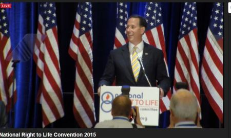 Rick Santorum NRLC 2015 prolife