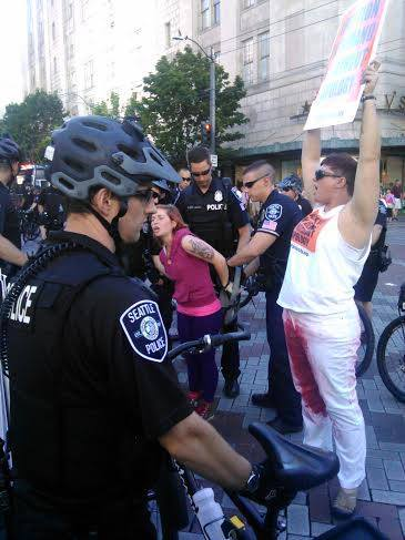 Stop Patriarchy arrested seattle 08879725310627579_n