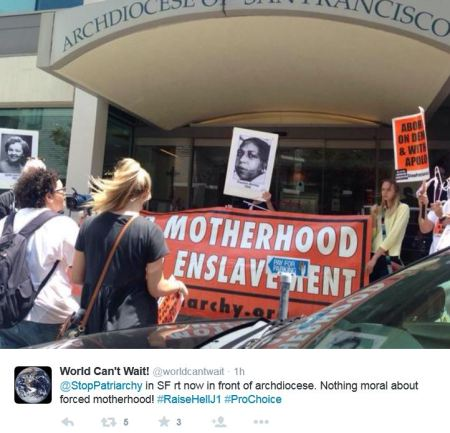 Stop Patriarchy SF Arch 3