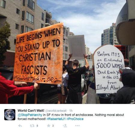 Stop Patriarchy SF Arch