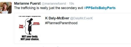 Trafficking second evil Planned Parenthood