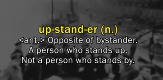 What is an upstander definition