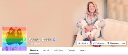 Wendy Davis Gay Pride