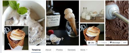 Whats the Scoop facebook