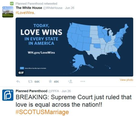 White House Love Wins Gay Marriage