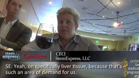 Cate Dyer STem Express Fetal Liver Planned Parenthood