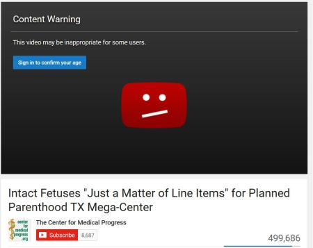 Center-for-Medical-Progress-YouTube-content-warning