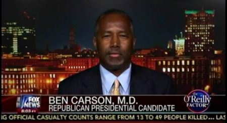 Dr Ben Carson black lives matter abortion planned parenthood oreilly