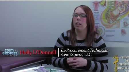 Holly ODonnell StemExpress Planned Parenthood