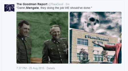Mengele Planned Parenthood