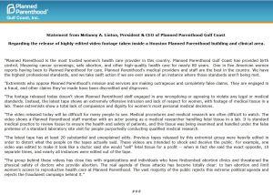 PPGC Statement