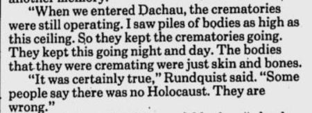 Rudquist Nazi Holocaust