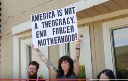 Satanist Ameria Theocracy Planned Parenthood abortion