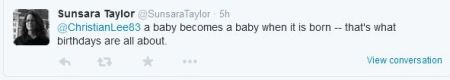 Sunsara Taylor omen fetus birth Stop Patriarchy